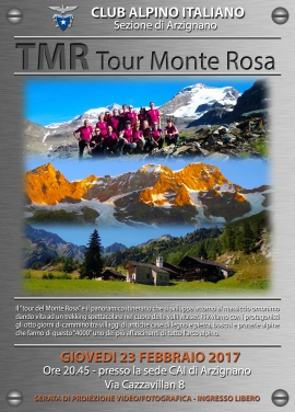"Serata Video ""Tour del Monte Rosa"""
